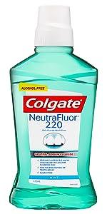 Colgate Neutrafluor  220 Alcohol free Mouthwash