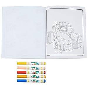 Crayola 127994100 Color Wonder Feuerwehrmann Sam Malbuch Bunt