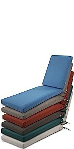 Ravenna Chaise Lounge Cushion