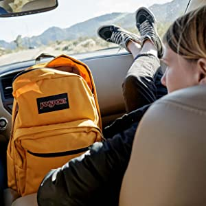 Jansport SuperBreak Made for Adventure, Guaranteed for Life