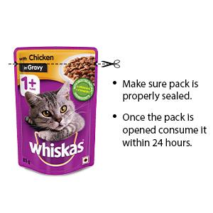 Storage of cat food