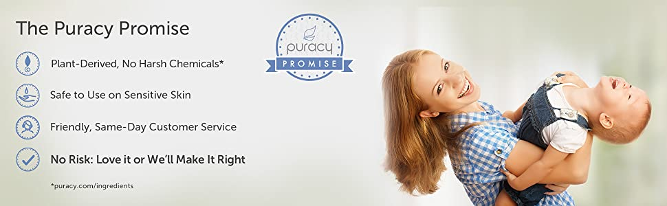 Puracy Organic Baby Lotion Promise