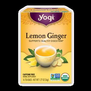 Yogi Tea, Lemon Ginger, 16 Count