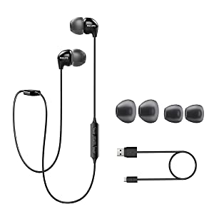 Philips UpBeat SHB3959BK accessories