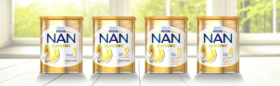 nan supreme baby formula milk infant toddler