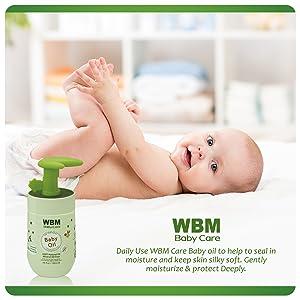 wbm baby oil