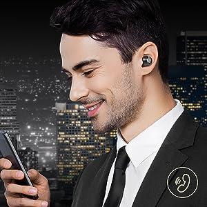 Touch Control IPX8 Waterproof in-Ear Headset