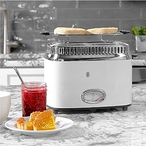 many uses retro style stylish kitchen