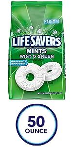 LIFE SAVERS Wint O Green Breath Mints
