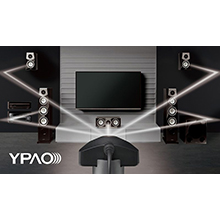 YPAO R.S.C. with Multi-point and Precision EQ