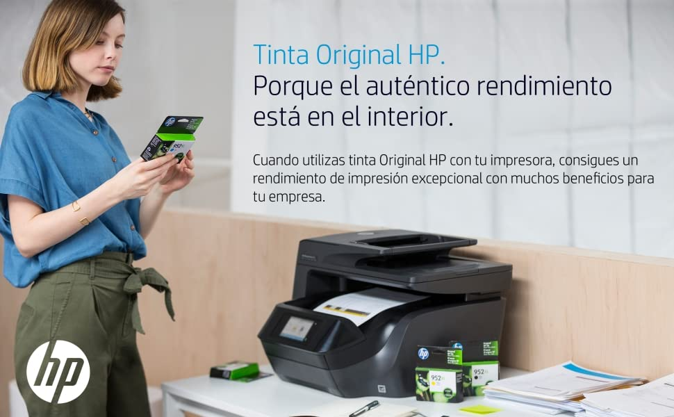 HP 953XL 3HZ52AE, Pack de 4, Cartuchos de Tinta Originales de alto ...