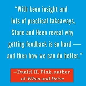 Adam Grant, Thanks For the Feedback, Douglas Stone, Sheila Heen, Self Improvement, self help books