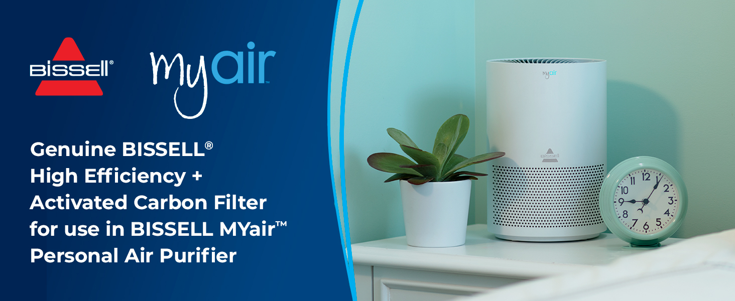 Bissell Myair Personal Air Purifier Replacement Filter 2801 Home Kitchen