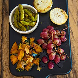 アペロ,野菜とぶどうのグリル4種