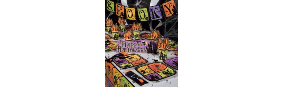 Haunted House Coordinating Party Supplies by Unique