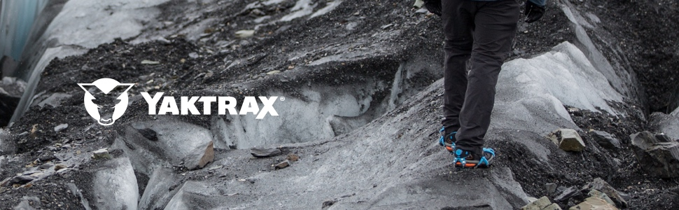 Yaktrax Traction Cleats for Walking, Running, and Hiking on Snow and Ice
