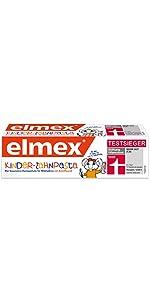 elmex Kinder-Zahnpasta, 0-6 Jahre
