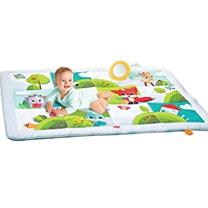 activity mats baby infants crawling floor playing tiny love Gymini mat gym tummy time toys pillow