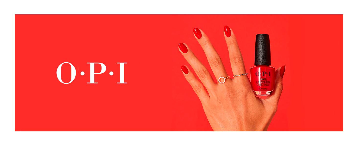 OPI Nail Lacquer, Red Nail Polish