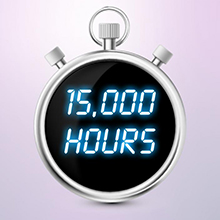 15,000 Hours