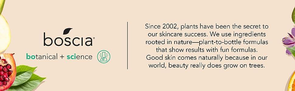 boscia brand pillars for sensitive skin good clean fun routine