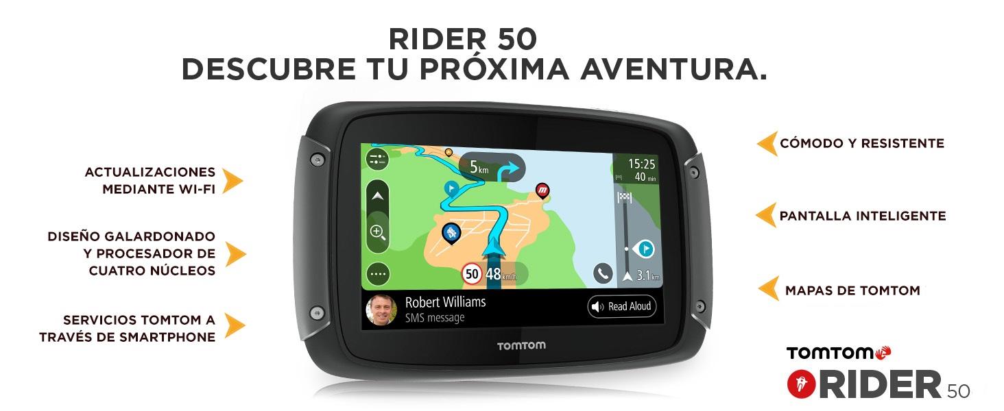 Rider 50 TomTom GPS