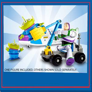 Mattel Disney Toy Story 4 Nave Espacial Buzz Lightyear, Juguetes Niños +3 Años (GJB37)