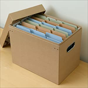 Smead FasTab hanging file folders with built-in tabs, letter size, drawer filing closeup
