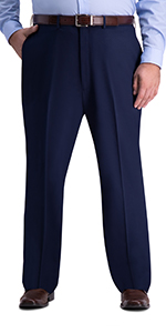 JM Haggar, big & tall, dress pants, 4 way stretch pants, classic fit, b&t classic fit dress pants