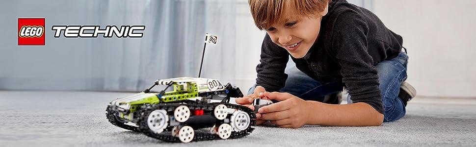 lego technic 42065 ferngesteuerter tracked racer amazon. Black Bedroom Furniture Sets. Home Design Ideas