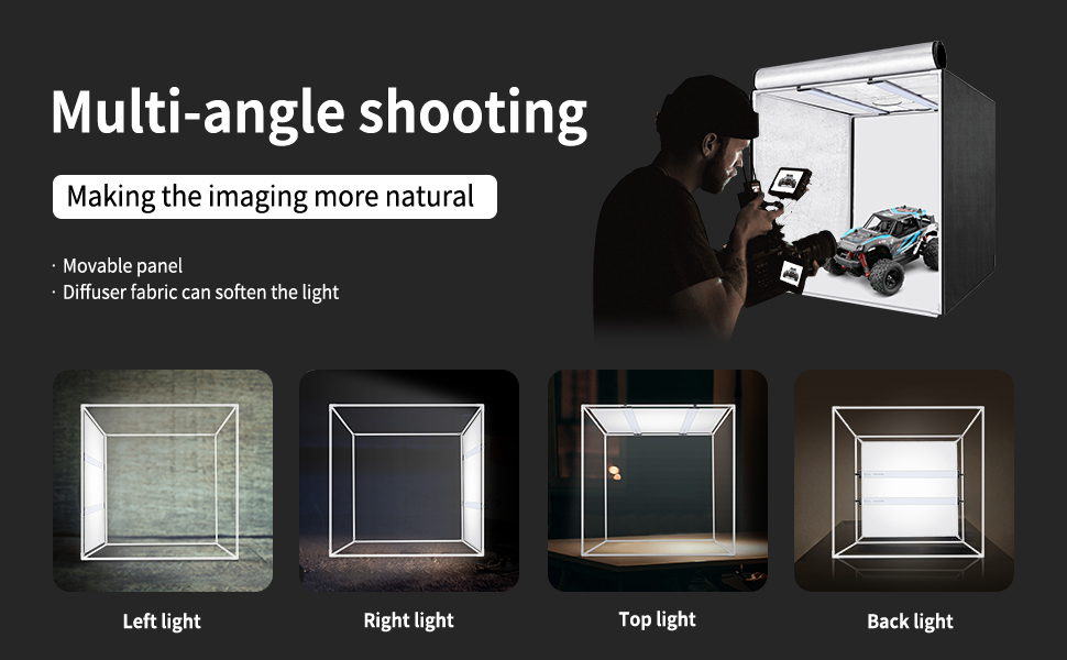 Multi-angle Shooting 210pcs SMD LED Beads Neewer Professional ...