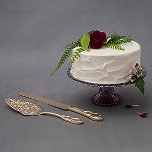 server and cake set