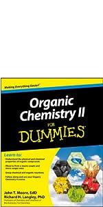 organic chemistry, organic chemistry ii, organic chemistry for dummies, organic chemistry ii dummies