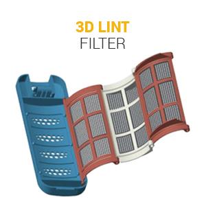 3D LINT FILTER