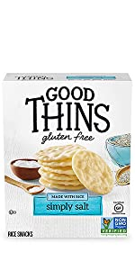 Good Thins Gluten Free Crackers Variety Pack