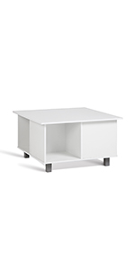 Compo Table Basse Casiers Cube Blanc