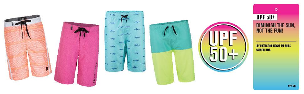 hurley boys, hurley, hurley kids, boys swim, boys apparel, swim for kids, kids swim, kids apparel