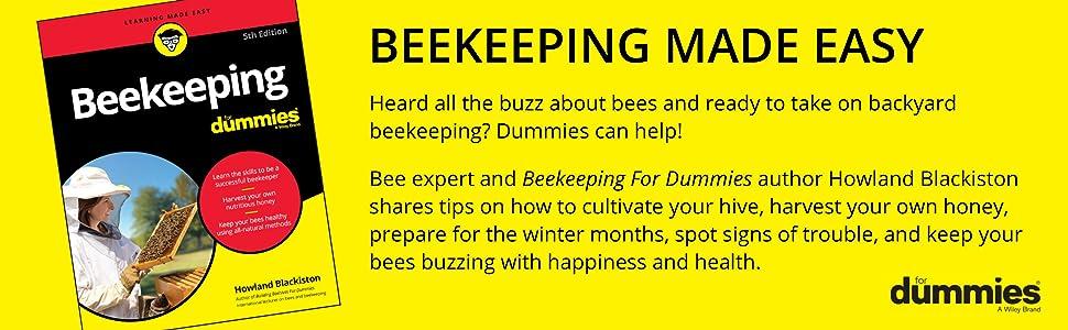 beekeeping, beekeeping for dummies, howland blackiston, beekeeping book, beekeeping for beginners