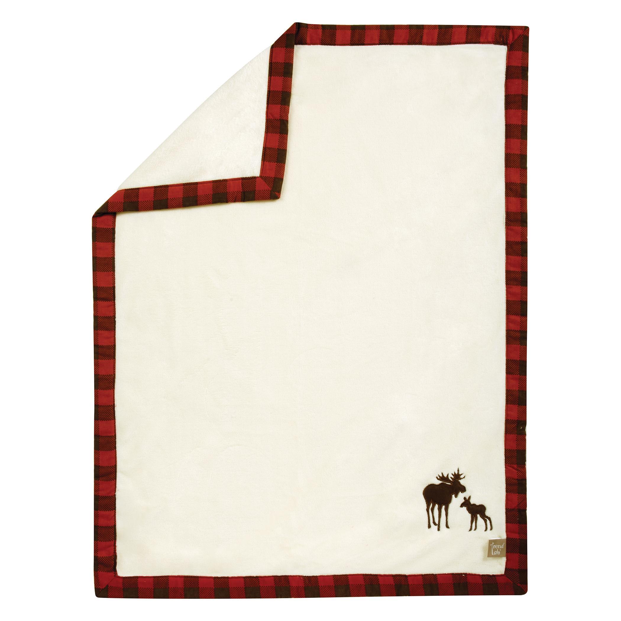 Amazon Com Trend Lab Northwoods Framed Receiving Blanket