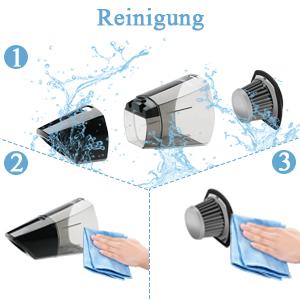 Hygienische Entleerun/Einfachzu leeren