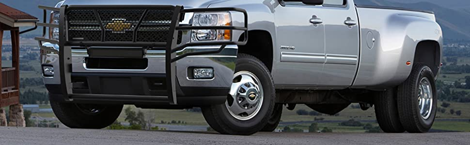 Black Horse off road rugged grille guard front end protection brush guard