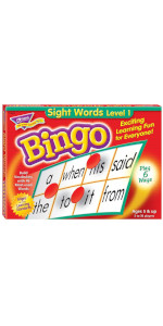Trend Enterprises T6064 Sight Words Bingo
