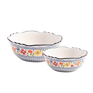 two serving bowls luxembourg
