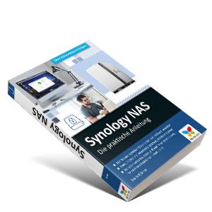 Buch Synology NAS Vierfarben Rheinwerk Verlag
