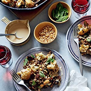 Crispy Spiced Lamb and Cauliflower with Dates