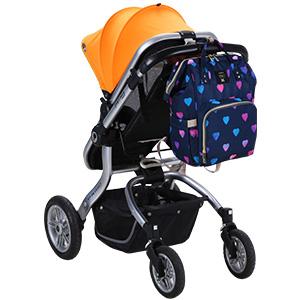 Amazon.com: Mochila para pañales de bebé Diaper, organizador ...