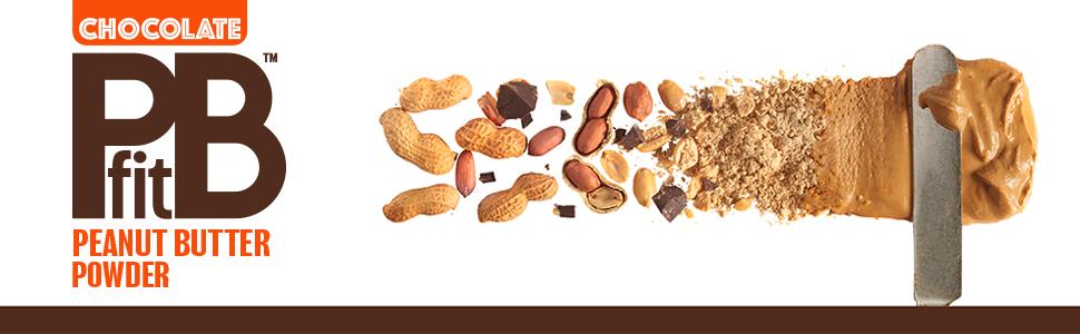 pbfit chocolate peanut butter powder 30oz protein gluten free vegan