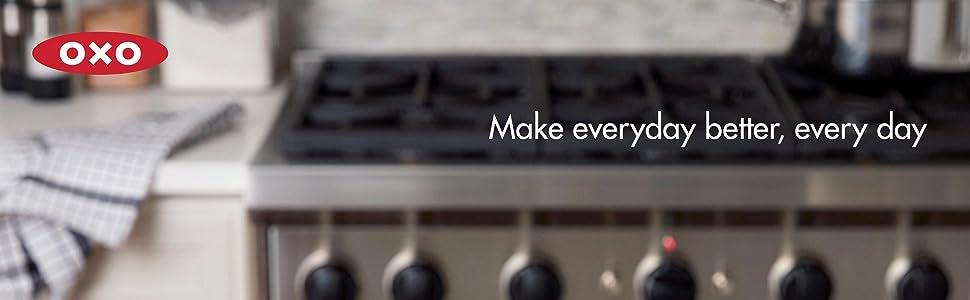 Amazon.com: OXO Silicona de buen agarre, canasta de vapor, M ...