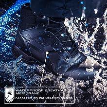 BOPS8002 waterproof comp toe boots