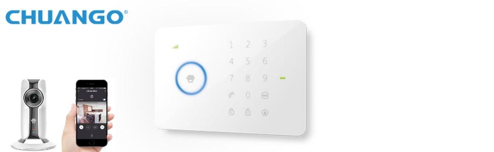Chuango G5i Plus Sistema de Alarma Wireless gsm/SMS/RFID con ...